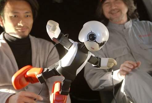 Японский говорящий робот Kirobo посетит МКС
