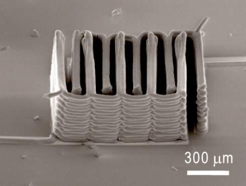 На 3D-принтере напечатали литиевый микроаккумулятор