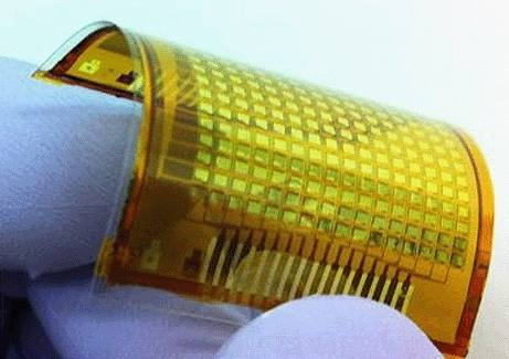 Электронная кожа совмещает датчики в гибком устройстве