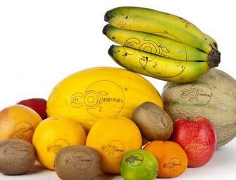 Наклейки на фруктах заменят лазерными татуировками