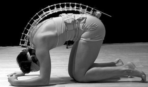 Инструментальное туловище предоставляет музыку и танцы позвоночнику