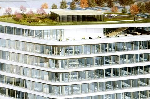 Мюнхенская башня будет иметь зеленую крышу