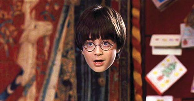 Плащ-неведимка Гарри Поттера