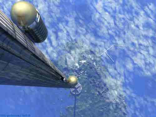Космический лифт – с небес на землю.